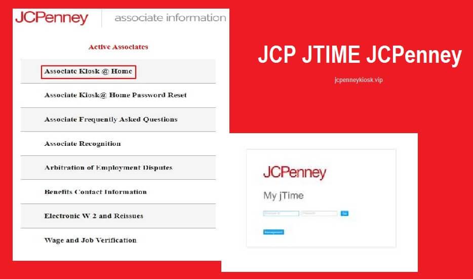 JCPenney JTime Employee Login